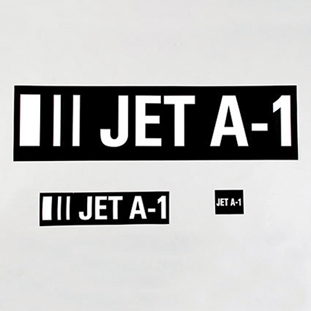 Jet A-1 Identification Labels