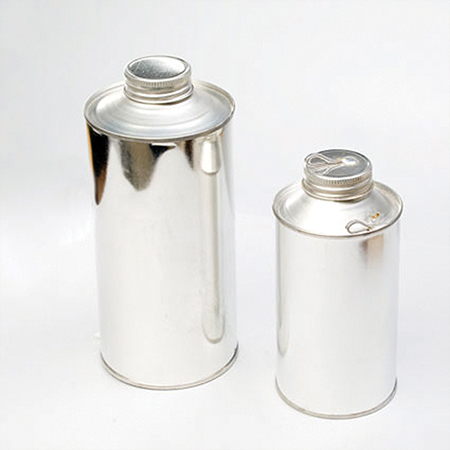 Cone Top Tin Sample Retention Cans
